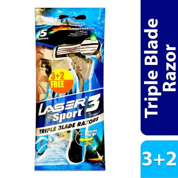 LASER SPORT3 3+2 TRIPL PCH
