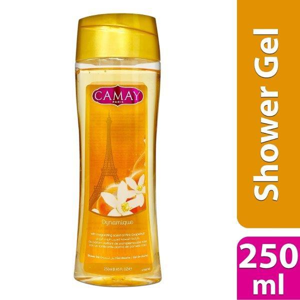 CAMAY SHOWER GEL 250ML DYNAMIQUE THAI