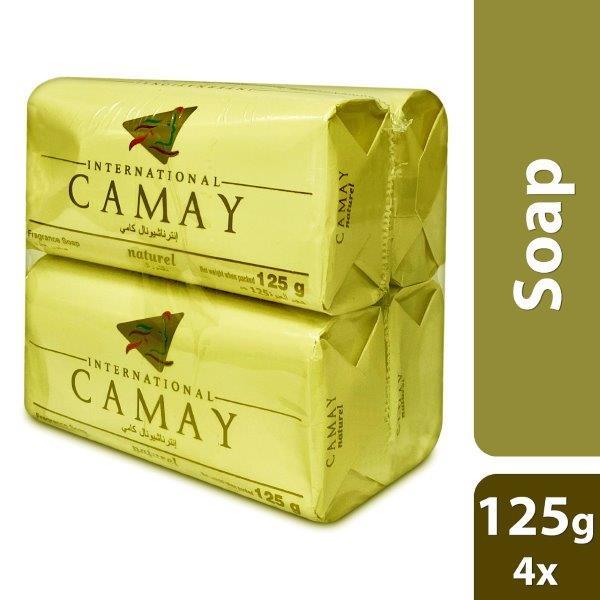 CAMAY NATURAL 125G - 4 SET PACK