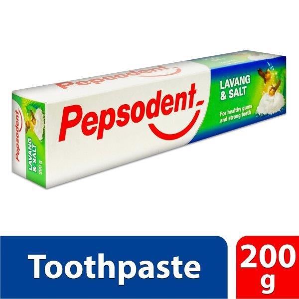 PEPSODENT 200GM LAVANG + SALT