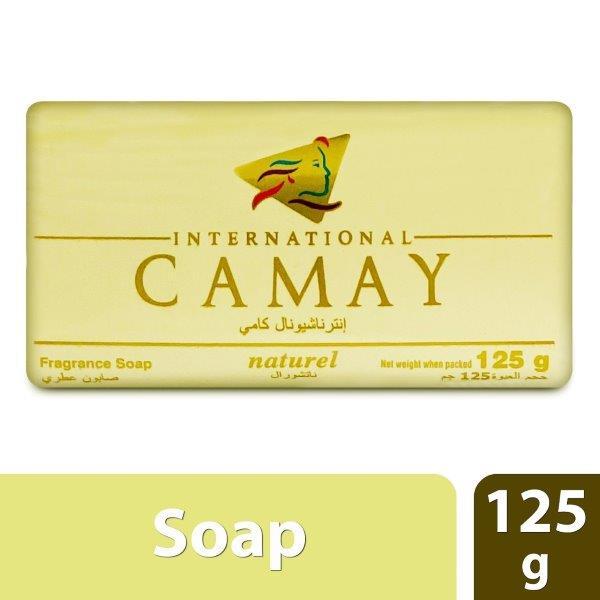 CAMAY SOAP 125G NATUREL