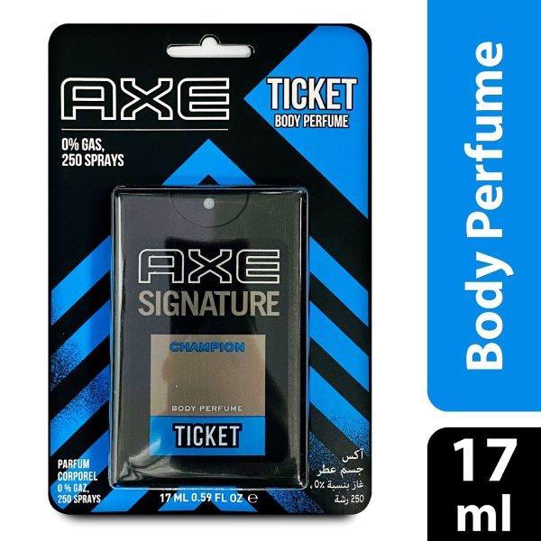 AXE TICKET CHAMPION 48X17ML