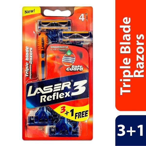 LASER REFLEX3 - 3+1 TRIPL CARD
