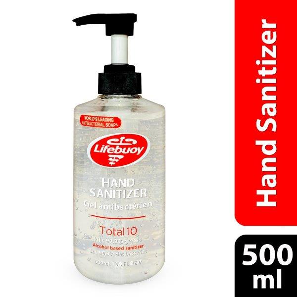 LIFEBUOY SANITIZER TOTAL 500ML