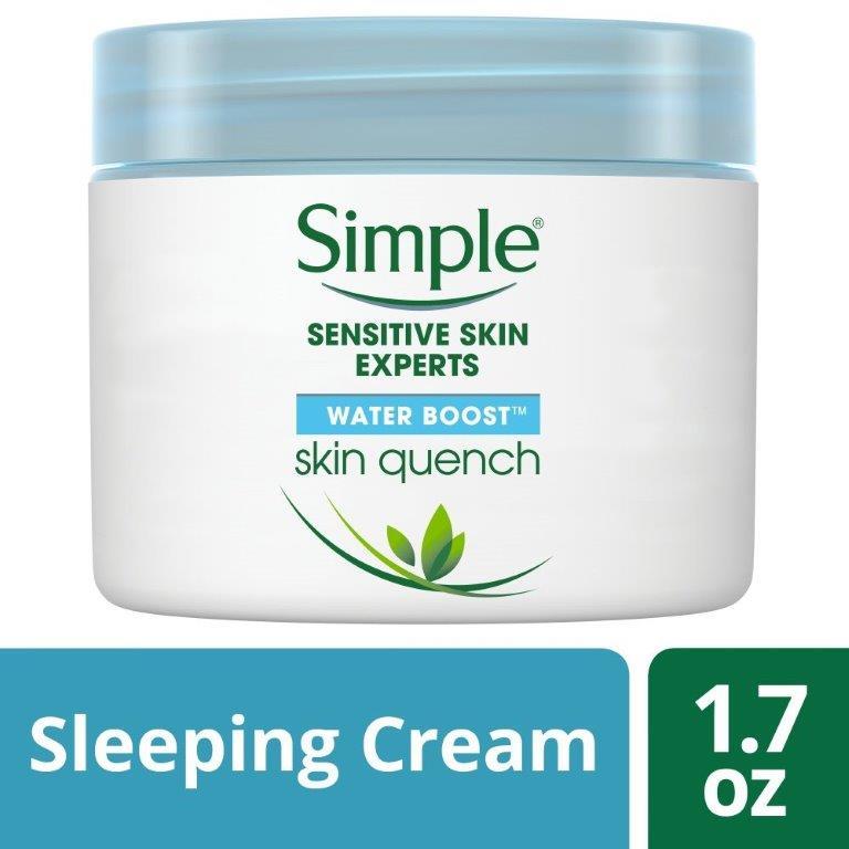 Simple Water Boost Night Cream, 50ml