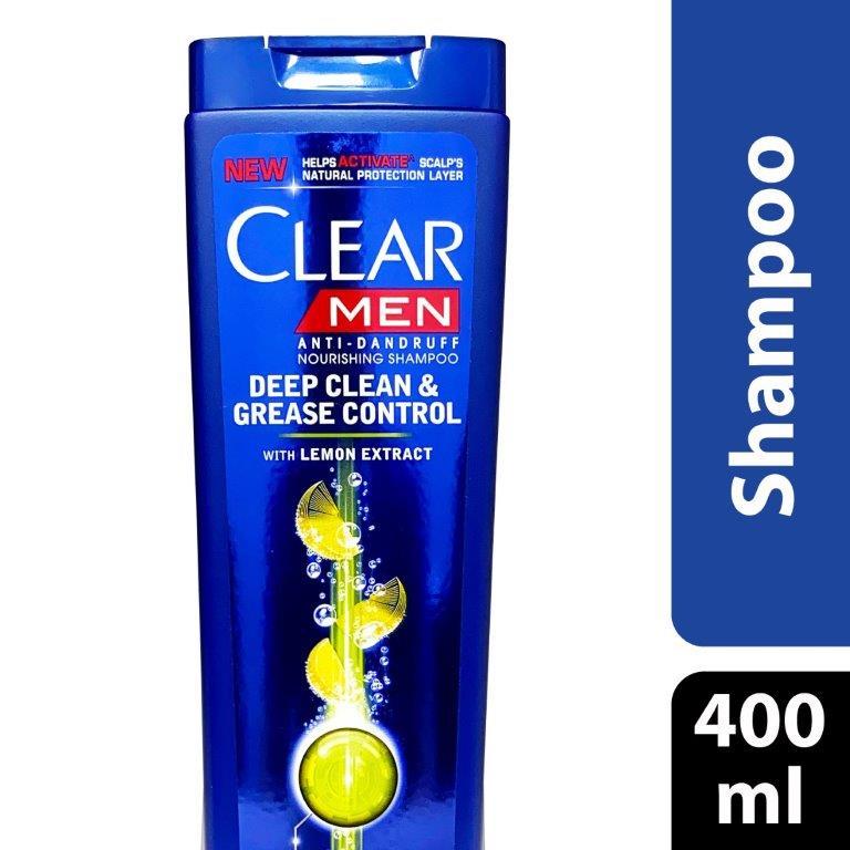 Clear Shampoo Deep Clean (Men), 400ml