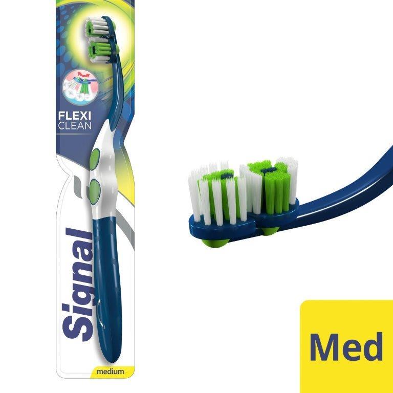 Signal Toothbrush Flexi Clean, Medium
