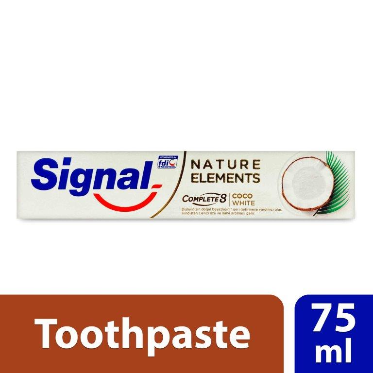 Signal Toothpaste Nature Elements Coco White, 75ml