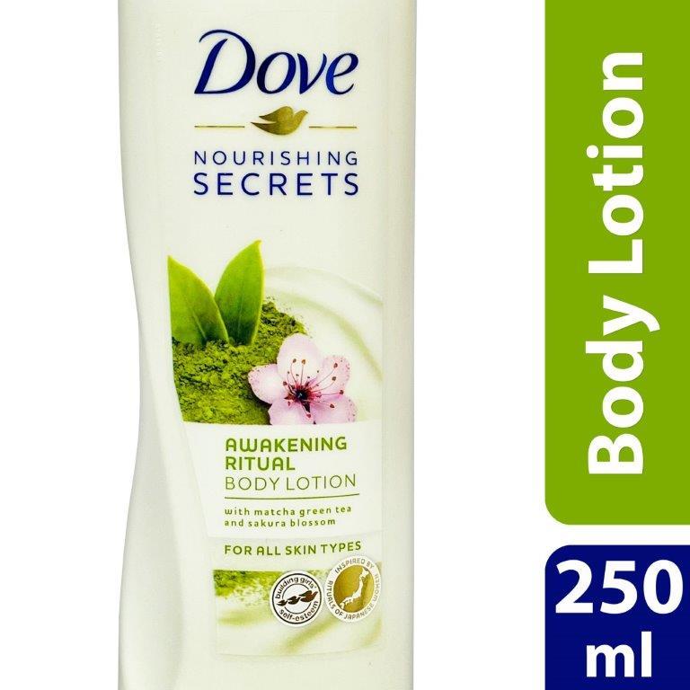 Dove  Body Lotion  Matcha Green tea & Sakura blossom 250ml