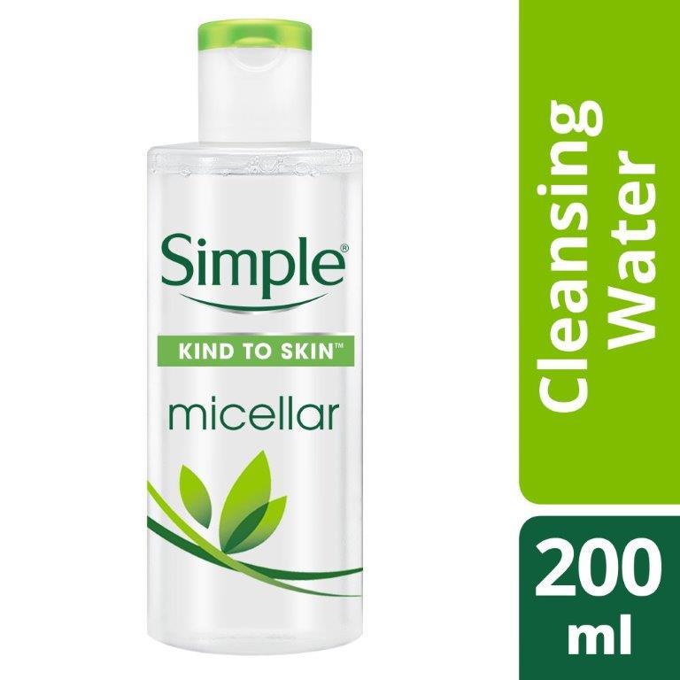 Simple Micellar Cleansing Water, 200ml