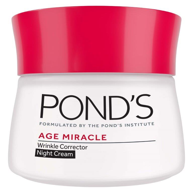 Pond's Age Miracle Night Cream Wrinkle Corrector, 50ml