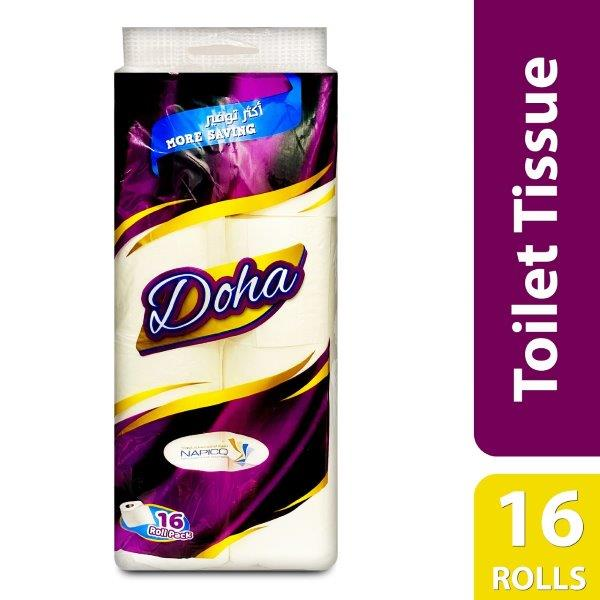 DOHA TOILET ROLL(1X16 ROLLS)