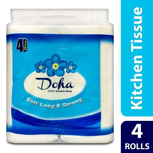 DOHA KITCHEN ROLL 90X2PLY