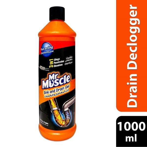 MR MUSCLE DRAIN GEL 1000ML