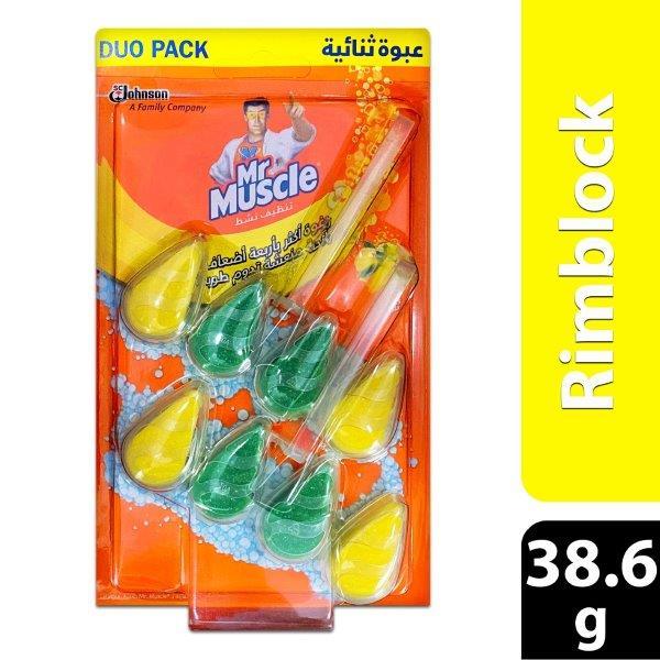 MM ACTIVE CLEAN T/P CITRUS 2X38.6GR