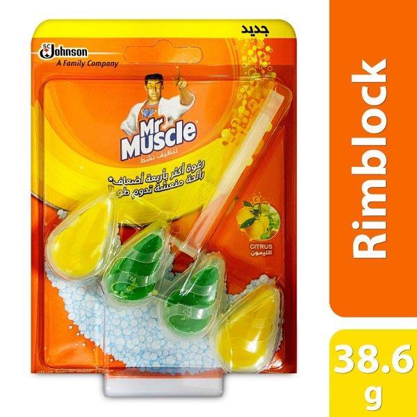 MR.MUSCLE RIMBLOCK CITRUS