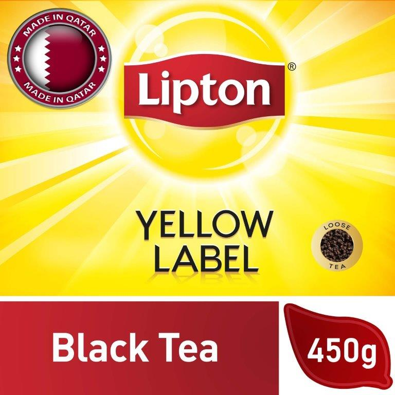 Lipton Yellow Label Black Tea Packet, 450G
