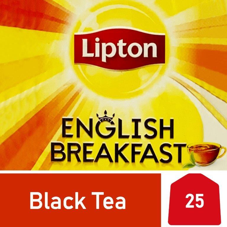 Lipton Black Tea English Breakfast, 25s
