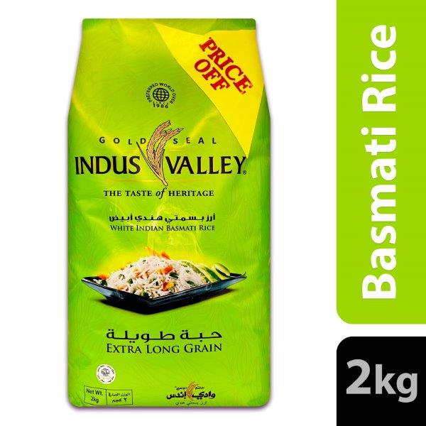 GSIV EXTRA LONG GRAIN 2 KG @ SPECIAL PRICE