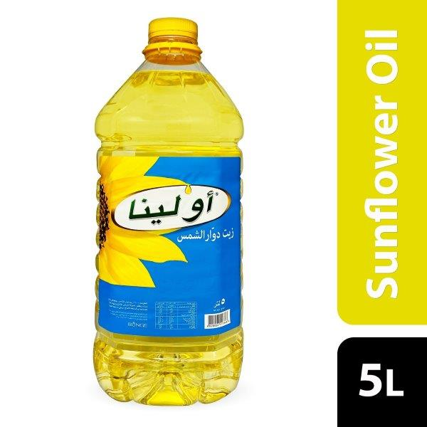 OLEINA SUNFLOWER OIL 5 LTR.
