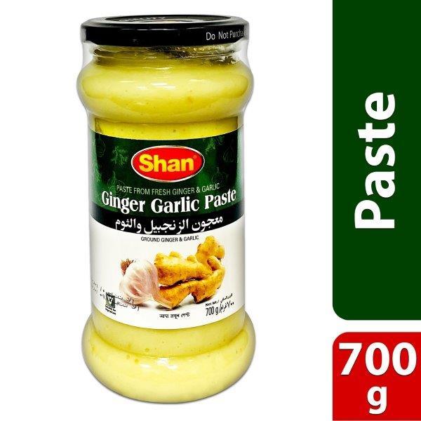 GINGER GARLIC PASTE (GLASS JAR)700g