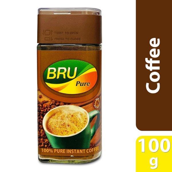 BRU COFFEE PURE 100G