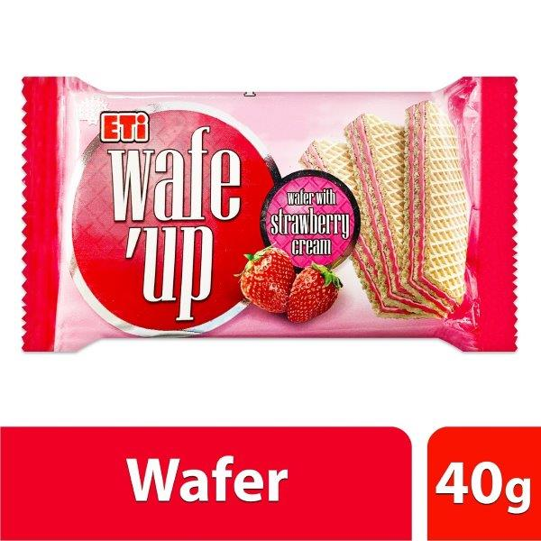 WAFE UP STRAWBERRY 40G:8690526605425