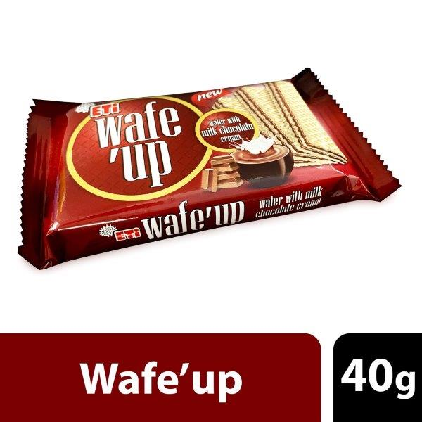 WAFE UP MILK CHOCOLATTE 40G:8690526605623