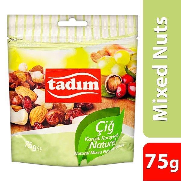TADIM MIX NUTS NATURAL 75GMS