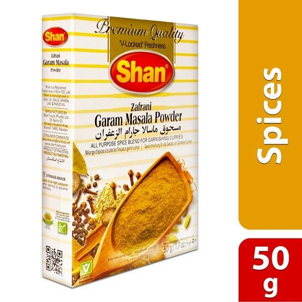 ZAFARNI GARAM MASALA POWDER 50GM :788821060143