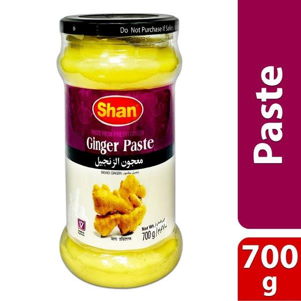 GINGER PASTE (GLASS JAR)700g
