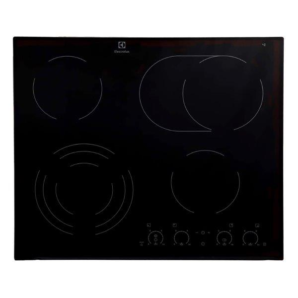 Electrolux 60 CM ELECTRIC CERAMIC HOB,  INDEPENDENT CONTROLS