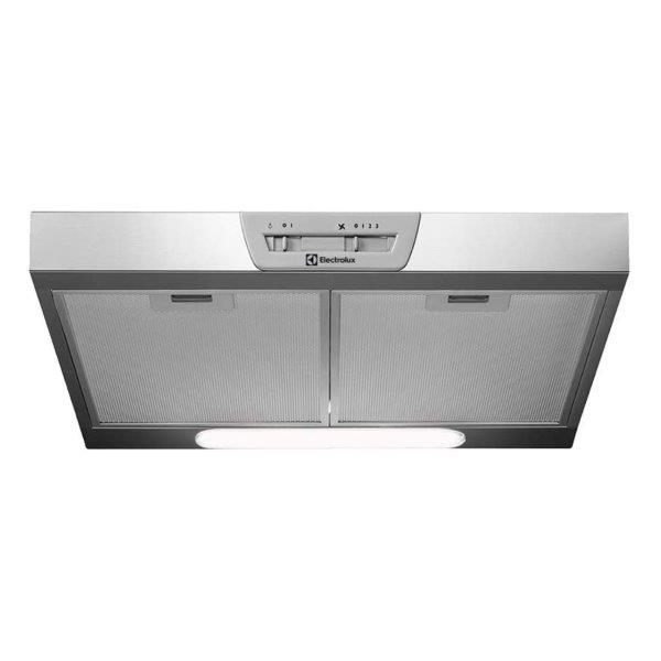 Electrolu 60 CM Cooker Hood Under Counter ,  3 speed controls and air extraction capacity (high / Low : 336/135 m3/h)
