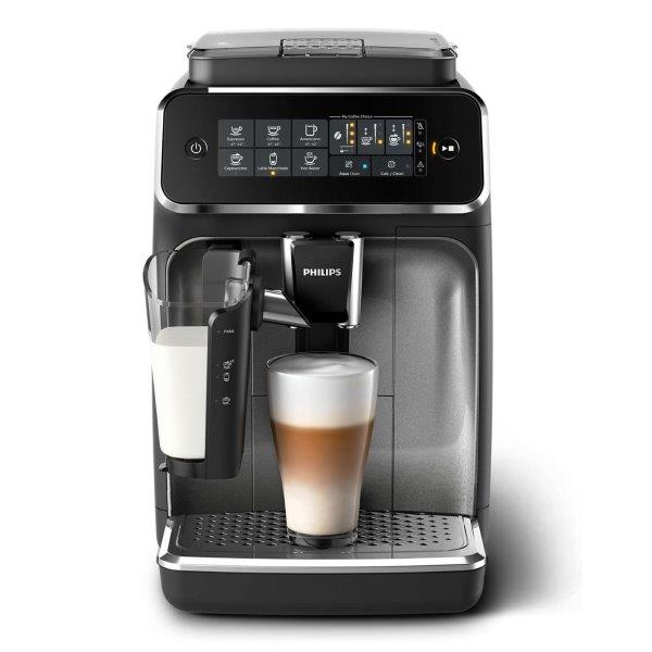 Philips Fully Automatic Espresso Coffee Machine, Easily make aromatic coffee - Espresso, Cappuccino, Latte Macchiato