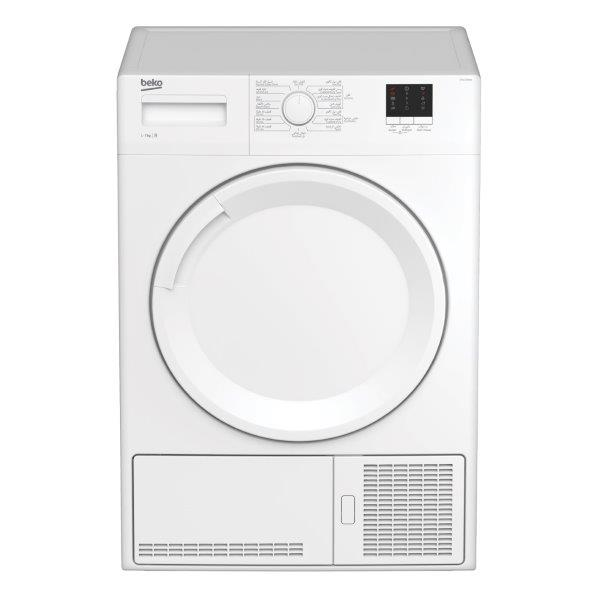 BEKO CONDENSER DRYER 7KG, sensor will automatically detect the perfect level of dryness