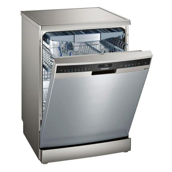SIEMENS FREE-STANDING DISHWASHER, 13 Plate Setting,  antiFingerprint and HygienePlus function