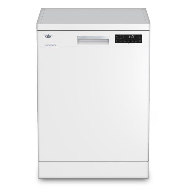 BEKO DISHWASHER 14 PLACE SETTING WHITE AQUA INTENSE FEATURE