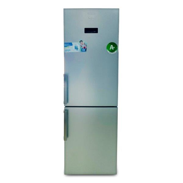 BEKO REFRIGERATOR 365 LTR SILVER BOTTOM MOUNT FREEZER