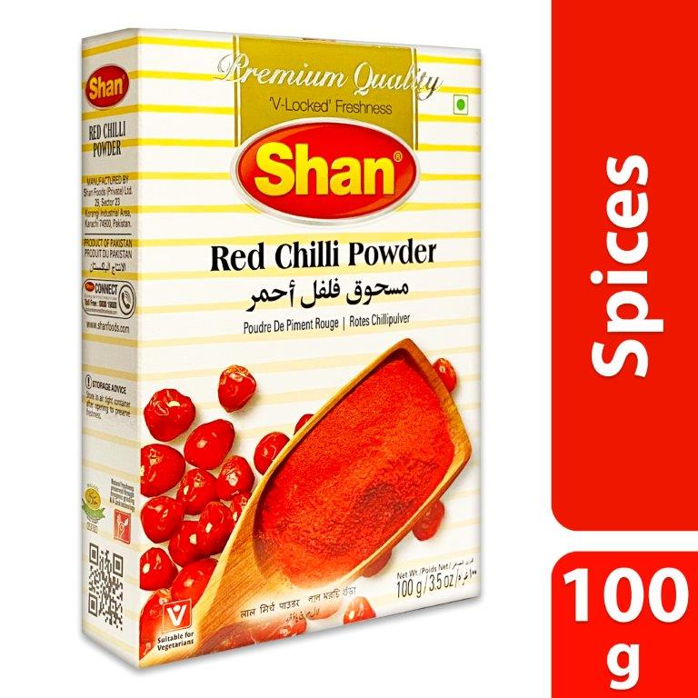 SHAN 100GM RED CHILLI POWDER