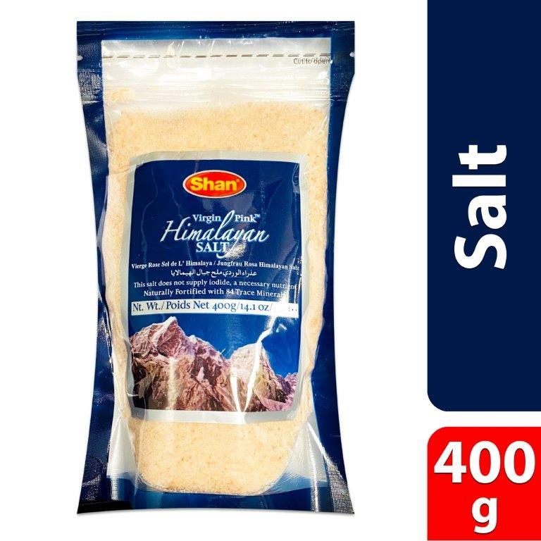 HIMALAYAN PINK SALT (STAND UP POUCH)400g