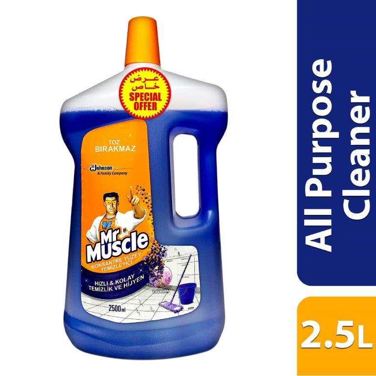 MR. MUSCLE WITH GLADE ALL PURPOSE CLEANER - LAVEND