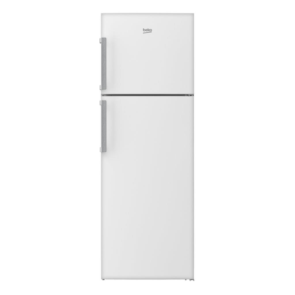BEKO REFRIGERATOR 385 LTR WHITE, High-durability glass shelves
