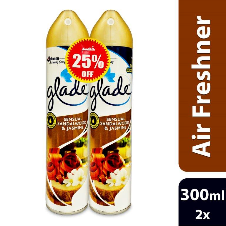 GLADE AERO SWOOD & JAS BUY 2 @ 25%