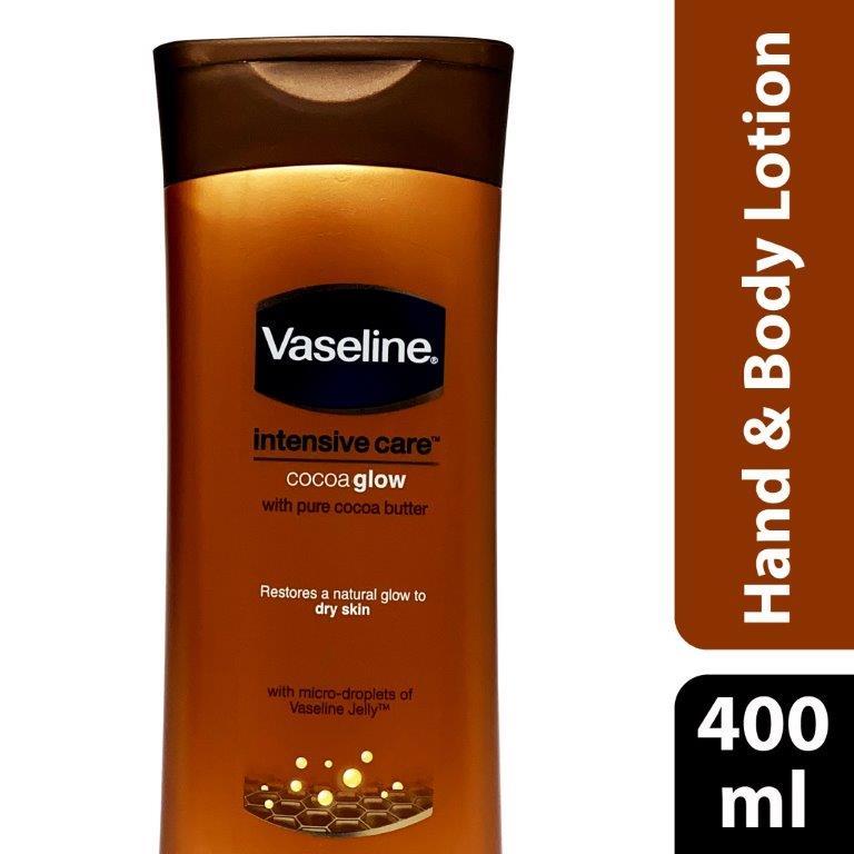 Vaseline Lotion Cocoa Glow, 400ml
