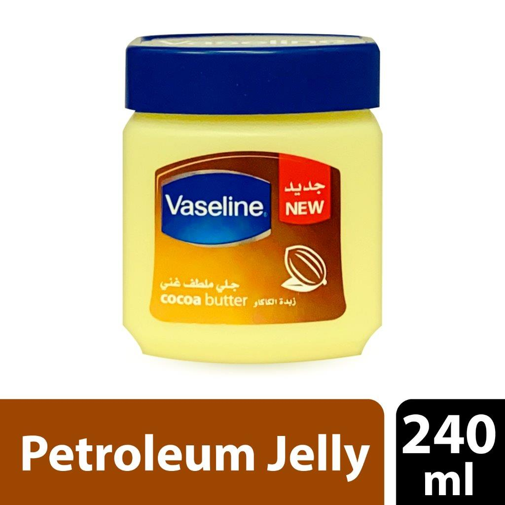 Vaseline Gentle Protective Jelly – Coca Butter, 240 ml