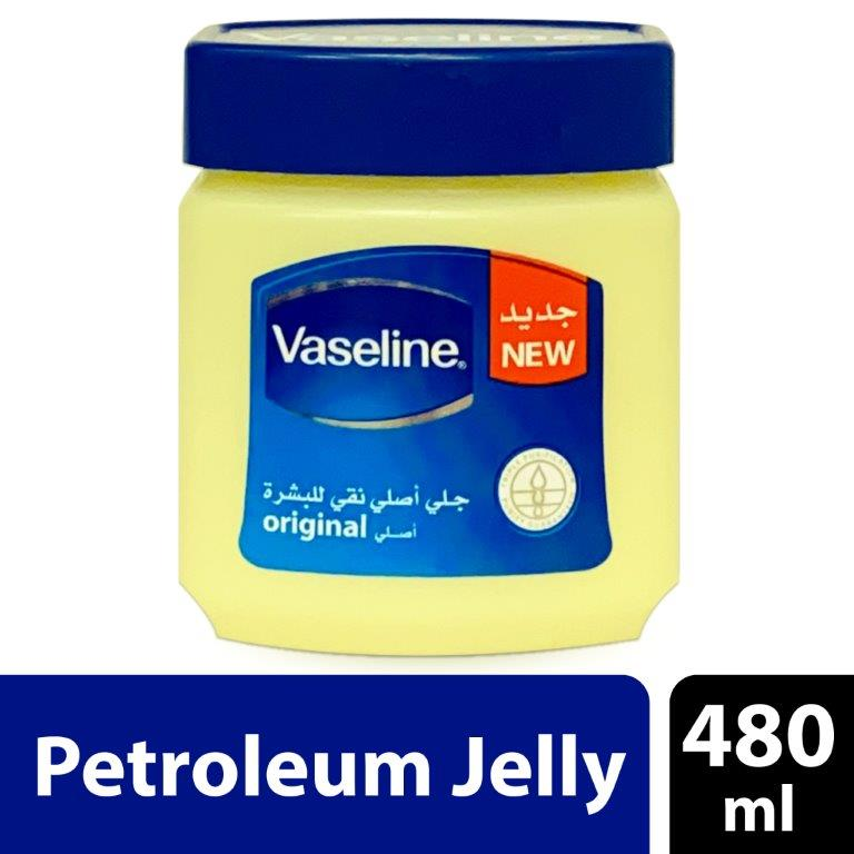 Vaseline Pure Skin Jelly – Original, 480 ml