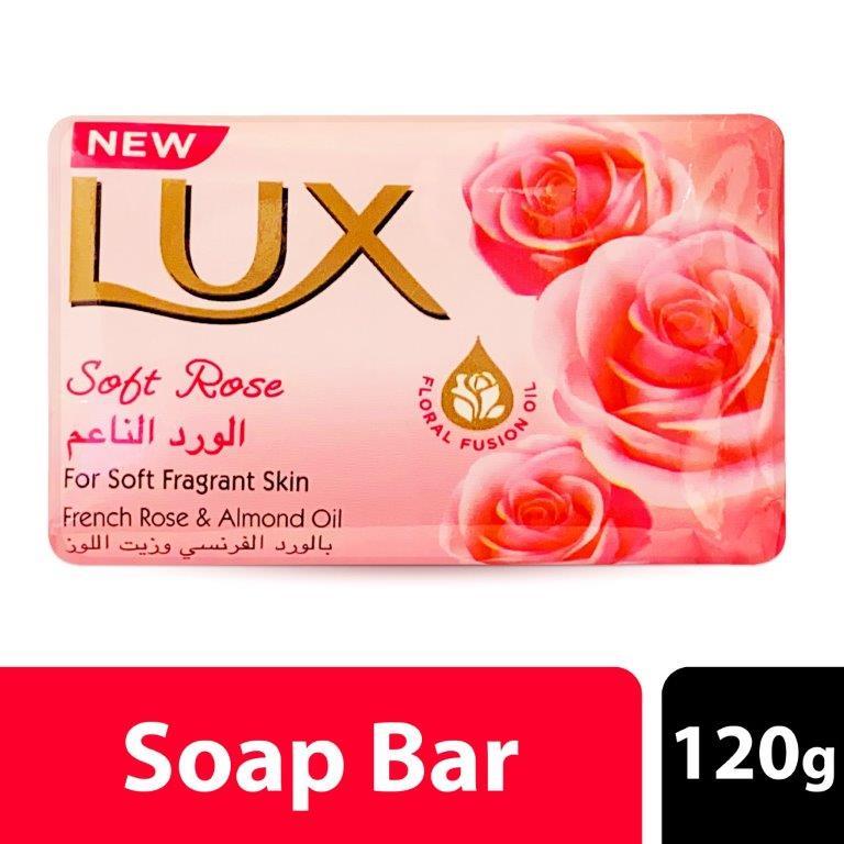 Lux Bar Soft Rose, 120G