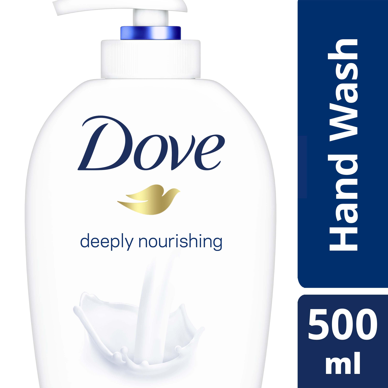 Dove Deeply Nourishing and Moisturising Handwash, 500ml