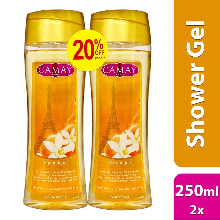 CAMAY SHOWER GEL 250MLDYNAMIQUE THAI