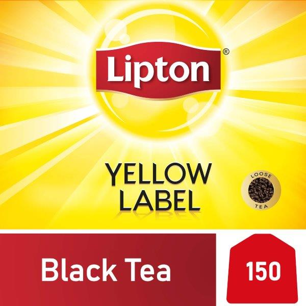 Lipton Yellow Label Black Tea, 150s